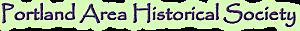 Portland Area Historical Society's Company logo
