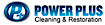 All American Vinyl's Competitor - Power Plus Cleaning logo