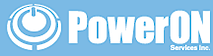 PowerON's Company logo