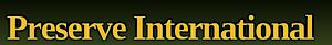 Preserve International's Company logo
