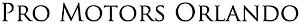 Pro Motors's Company logo