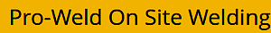 Pro Weld's Company logo