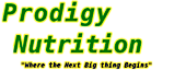 Prodigy Nutrition's Company logo