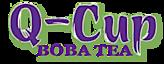 Q-cup Boba Tea's Company logo
