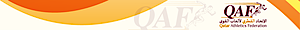 Qatar Athletics Federation's Company logo