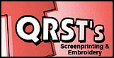 Qrst's - Your Custom Screenprinting, Digital Printing & Embroidery Place's Company logo