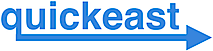 Quickeast's Company logo