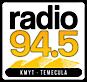 Radio 94.5 Kmyt - World Class Rock's Company logo