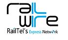Railwire's Company logo