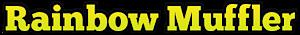 Rainbow Muffler's Company logo