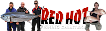 Red Hot Fishing Charters - Portland Tuna & Port Phillip Bay Snapper's Company logo