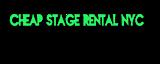 Cheapstagerentalnyc's Company logo