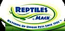 Reptiles By Mack's Company logo