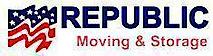 Republic Moving and Storage's Company logo