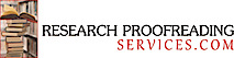 Research Proofreading Services's Company logo