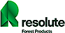 Glatfelter's Competitor - Resolute Forest Products logo