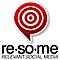 Social Karma's Competitor - Resome logo