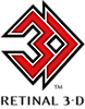 Retinal 3-d's Company logo
