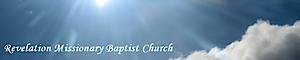 Revelation Missionary Baptist Church's Company logo
