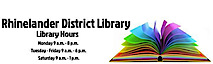 Rhinelander District Library's Company logo