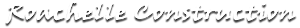 Roachelle Construction's Company logo