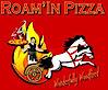 Roam'in Pizza-woodfired Pizza's Company logo