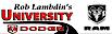 Wbsfla's Competitor - Rob Lambdin's University Dodge logo
