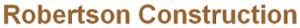 Robertson Construction's Company logo