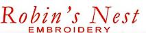 Robin's Nest Embroidery's Company logo