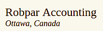 Robpar Accounting's Company logo