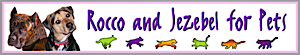 Rocco And Jezebel For Pets's Company logo