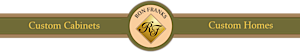 Ron Franks Custom Cabinetry's Company logo