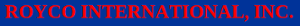 Royco International's Company logo
