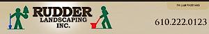 Rudder Landscaping's Company logo