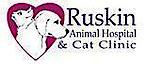 Ruskin Animal's Company logo