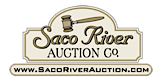 Saco River Auction's Company logo
