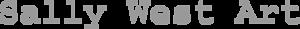 Sally West Art's Company logo