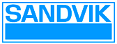 Sandvik's Company logo
