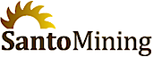 Santo Mining's Company logo