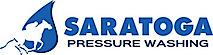 Saratoga Pressure Washing's Company logo