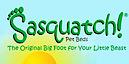 Sasquatch! Pet Beds/unique Beast's Company logo