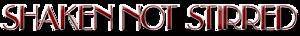 Shakennotstirredmusic's Company logo