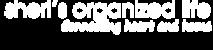 Sheri's Organized Life's Company logo