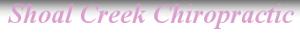 Shoal Creek Chiropractic's Company logo