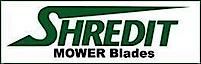 Shredit Mower Blade's Company logo
