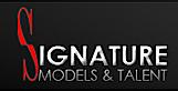 Signature Models and Talent's Company logo
