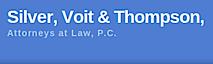 Silver Voit & Thompson's Company logo