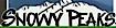 SNOWY PEAKS RV PEAKS & RENTALS Logo