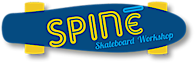Spine Skateboard Workshop's Company logo