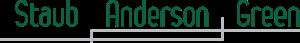 Staub Anderson Green's Company logo